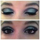 tapered smokey eye