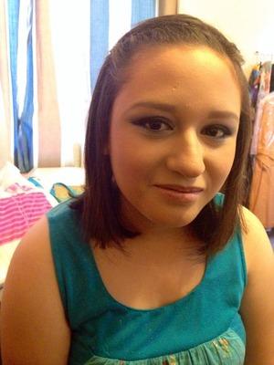 Young skin, Young makeup.