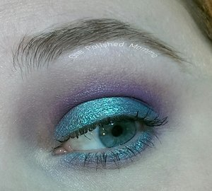 foiled shadow in Pegasus with wisteria in the crease
