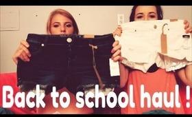 shopping haul! (back to school)