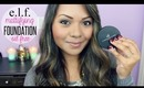 Review & Application: E.L.F. HD Mattifying Foundation (Oil Free)   TheMaryberryLive