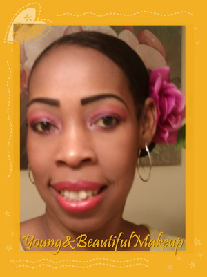 Bright summer look appropriate for  weddings, partys, picnics, etc.