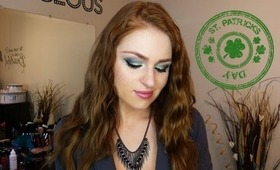 St. Patricks Day Inspired Makeup Tutorial