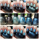 China Glaze Hologlam Holographic Collection.
