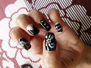 Nail art by Sneh