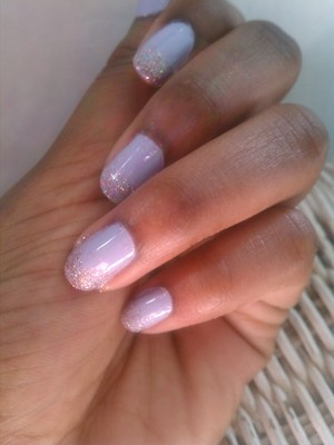 Inspired by Whitney Houston 'I Wanna Dance With Somebody' video- products used are Revlon 'Cloud' and Bon Bons pink glitter