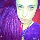 purple dreads