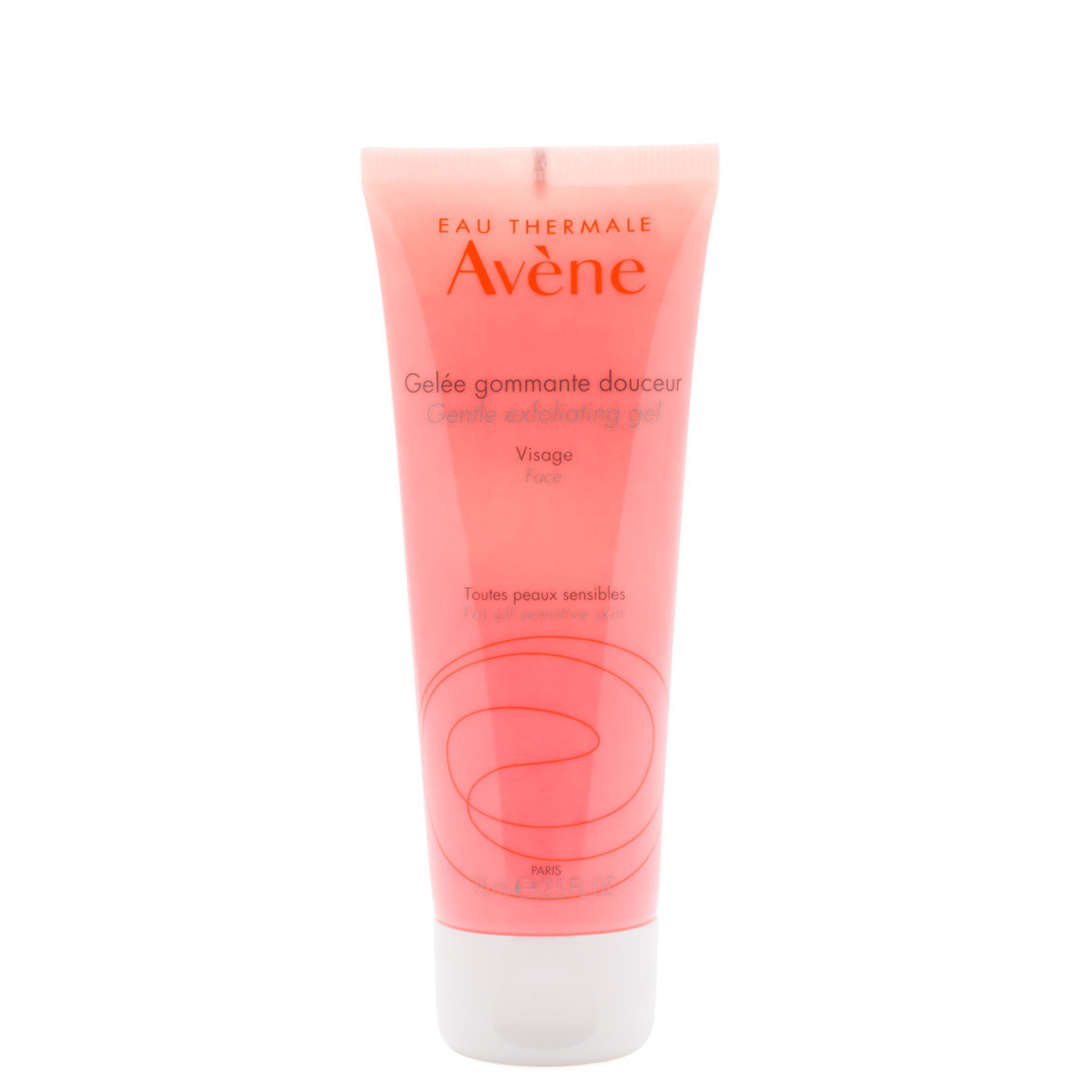 Eau Thermale Avène Gentle Exfoliating Gel product swatch.