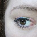 Subtle rainbow eye