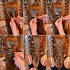 Fun hairstyle tutorial