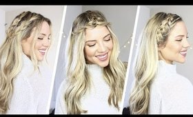 3 Easy Braided Hairstyles | Luxy Hair