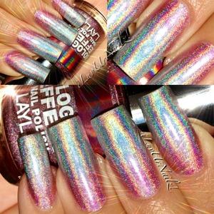 I love this look I used Layla's twilight & Retro pink