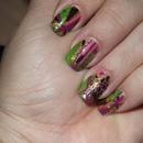 Abstract Spring Nails