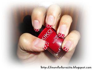 9/10/2011 http://mundoderozita.blogspot.com/2011/10/red-polka-dots-french-manicure.html