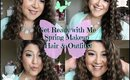 Get Ready with Me! ❀ Spring Makeup, Hair, Outfit! ❀