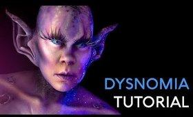 Dysnomia | Moon Alien | FX Makeup Tutorial