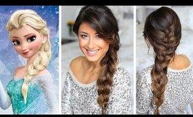 Frozen Elsa's Braid Hair Tutorial