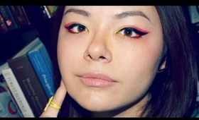 Easy Colorful Sunset Makeup (NO BRUSHES)