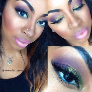 Check out my tutorial for this look on my youtube channel at www.youtube.com/beautysosweet08