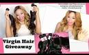 Malaysian Virgin Hair Review | Kim Kardashian Inspired Hair + GIVEAWAY! | Queenie's Real Virgin Hair