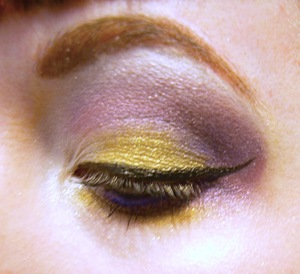 """Jem Inspired """"Glitter and Gold"""" Look"""
