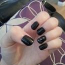 Matte animal print nails!