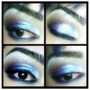 frosty blue smoky eye