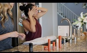 My 3 min. Skincare Routine - Mommy Friendly - Rissrose2