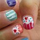 My little niece's nails!