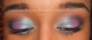 Colorful Summer and Spring Makeup Look. Tutorial here: http://superbeautyguru.com/colorful-spring-makeup-tutorial-video/