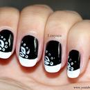 Monochrome Nails
