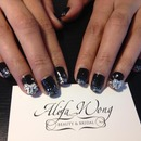 Black and Silver Bows by Tiffany