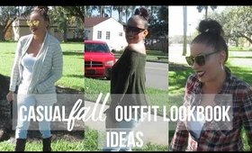Casual Fall Outfit Ideas Lookbook | Mom Edition