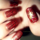 Gryffindor Nails.