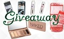 Real Techniques Brush Sets & Urban Decay Naked Basics Palette Giveaway!