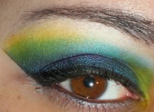 Eyes: Variation of my Sugarpill Lazy Monday look!