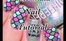 Mermaid nail tutorial