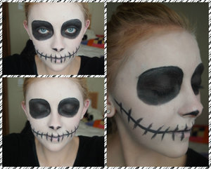 This is my take on a Jack Skellington inspired look!