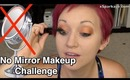 xSparkage No Mirror Makeup Challenge! Beware of the Brows!! D: D: