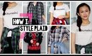 7 Ways To Wear Plaid/Flannel // Last Minute Outfits