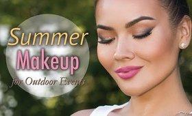 Summer Makeup Tutorial for Outdoor Events
