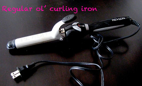 DIY Clipless Curling Iron