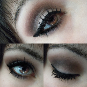 hey! I'm back with this easy make up! Hope you like it! :)