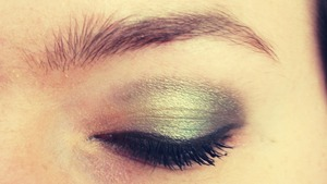 This is my birthday makeup:)