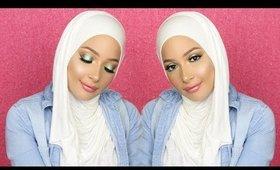Colorful Spring Inspired Makeup Tutorial | Nura Afia