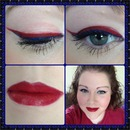 4th of July/ Patriotic Look :)
