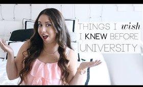 Things I Wish I Knew Before University ♡