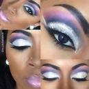 Glitter Dramatic Drag Makeup!