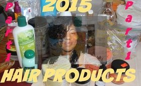 Hair Products I'll Be Taking With Me Into 2015 - Part 1   VLOG #29
