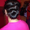 My first updo